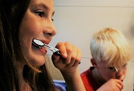 How to Teach the Children to Brush the Teeth image